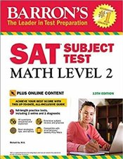 SAT Subject Test Math Level 2 13e : With Bonus Online Tests - Ku, Richard