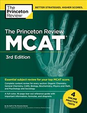 Princeton Review MCAT : Volume 1 : Content Review and Instruction   - Review, Princeton
