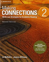 Making Connections Level 2 Students Book with Integrated Digital Learning: Skills and Strategies fo - Williams, Jessica