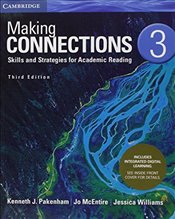 Making Connections Level 3 Students Book with Integrated Digital Learning: Skills and Strategies fo - Williams, Jessica