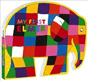 My First Elmer: Shaped Board Book - McKee, David