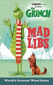 Illumination Presents Dr. Seuss the Grinch Mad Libs - Schonfeld, Sara