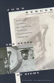 Sense of Sight  - Berger, John