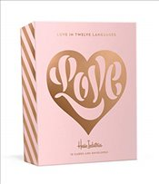 Love in Twelve Languages: 12 Foil-Stamped Note Cards with Envelopes - Industries, House