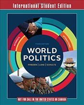 World Politics : Interests, Interactions, Institutions - Frieden, Jeffry A.