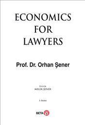 Economic For Lawyers - Şener, Orhan