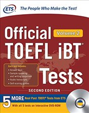 Official TOEFL IBT Tests Volume 2 with DVD 2e - ETS