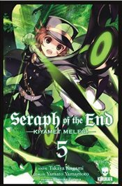 Seraph Of The End : Kıyamet Meleği 5 - Kagami, Takaya