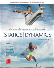 Vector Mechanics for Engineers 12e : Statics and Dynamics - Beer, Ferdinand Pierre
