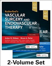 Rutherfords Vascular Surgery and Endovascular Therapy 9E : 2-Volume Set - Sidawy, Anton N.