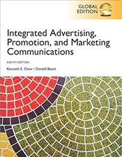 Integrated Advertising, Promotion and Marketing Communications 8e GE - Clow, Kenneth E.