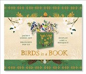 Birds in a Book : Jacket Comes Off. Branches Pop Up. Display Like a Bouquet! -