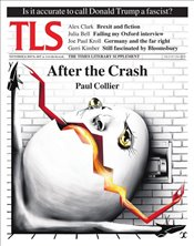 Times Literary Supplement Magazine 6033 : 16Nov18 : After the Crash -