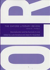 Oxford Literary Review Magazine 40/2 : 2018 - II -