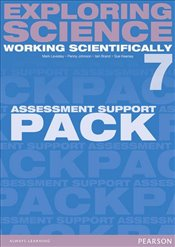 Exploring Science : Working Scientifically Assessment Support Pack Year 7 (Exploring Science 4) - Levesley, Mark
