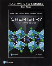 Student Solutions Manual to Red Exercises for Chemistry: The Central Science - Brown, Theodore E.