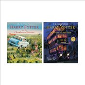 Harry Potter Illustrated Editions Pair - Rowling, J. K.
