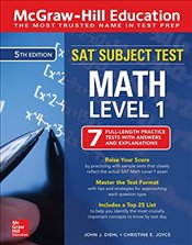SAT Subject Test Math Level 1 5e - Diehl, John