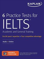 6 Practice Tests for IELTS General Training Audio + Online -