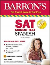 SAT Spanish with Online Test and Audio 5e - Diaz, Jose M.
