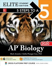 5 Steps to a 5 : AP Biology 2020 : Elite Student Edition - Anestis, Mark