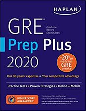 GRE Prep Plus 2020 : Practice Tests + Proven Strategies + Online + Video + Mobile -