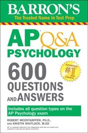 Barrons AP Q&A Psychology : 600 Questions and Answers - Mcantarffer, Robert