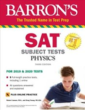 SAT Subject Test Physics With Online Test 3e - Jansen, Robert