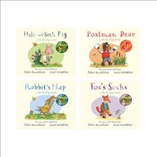 Tales from Acorn Wood Lift-the-Flap Pack x 4 - Donaldson, Julia