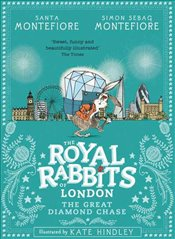 Royal Rabbits of London : The Great Diamond Chase  - Montefiore, Santa