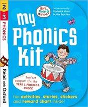 Read with Oxford : Biff, Chip and Kipper : My Phonics Kit Stages 2-3 - Hunt, Roderick