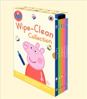 Peppa Pig Wipe-Clean Collection : 5 Board Books Set - Pig, Peppa