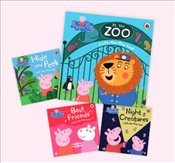 Peppa Pig Lift-the-flap Collection : 4 Books Set - Pig, Peppa