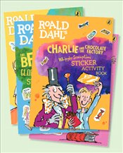 Roald Dahl Sticker Book Collection : 4 Sticker Activity Books Set - Dahl, Roald