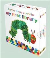 Very Hungry Caterpillar Upsized Little Learning Library : 4 Board Books Set - Carle, Eric