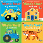 Ladybird What's That? : 4 Board Books Set -