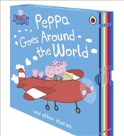 Peppa Goes Around the World and Other Stories : 6 Books Set - Pig, Peppa