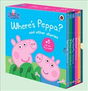 Where's Peppa? : Lift-the-fl ap Collection : 5 Books Set - Pig, Peppa