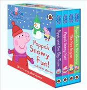 Peppa Pig Adventure Storybook Collection : 4 Board Books Set - Pig, Peppa