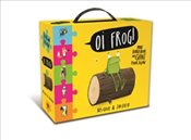 Oi Frog! : Book and Jigsaw Carry Case - Gray, Kes