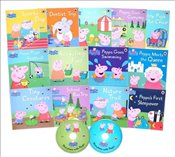 Peppa Pig Paperback and CD Collection : 13 Books + 2CDs  -