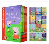 Peppa Pig Read It Yourself Story Collection : 12 Books Set  -