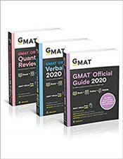 GMAT Official Guide 2020 Bundle : Books + Online - GMAC - Graduate Management Admission Council