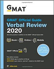 GMAT Official Guide 2020 Verbal Review : Book + Online   - GMAC - Graduate Management Admission Council