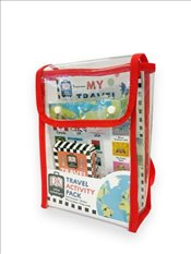 Travel Activity Pack : Fun Filled Backpack Bursting with Games and Activities -