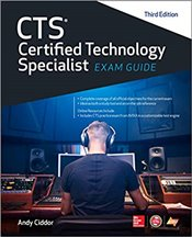 CTS Certified Technology Specialist 3e : Exam Guide - Ciddor, Andy