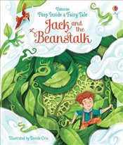 Jack and the Beanstalk : Peep Inside a Fairy Tale - Milbourne, Anna