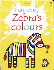 Zebras Colours  - Watt, Fiona