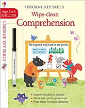 Wipe-Clean Comprehension  -