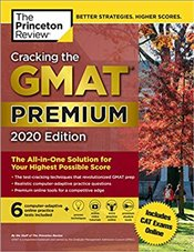Cracking the GMAT with 6 Computer-Adaptive Practice Tests 2020  Premium Edition -
